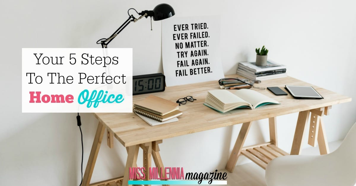 A home office is your space, and you can design it how you like, filling it with all the quirk or efficiency that you could need.