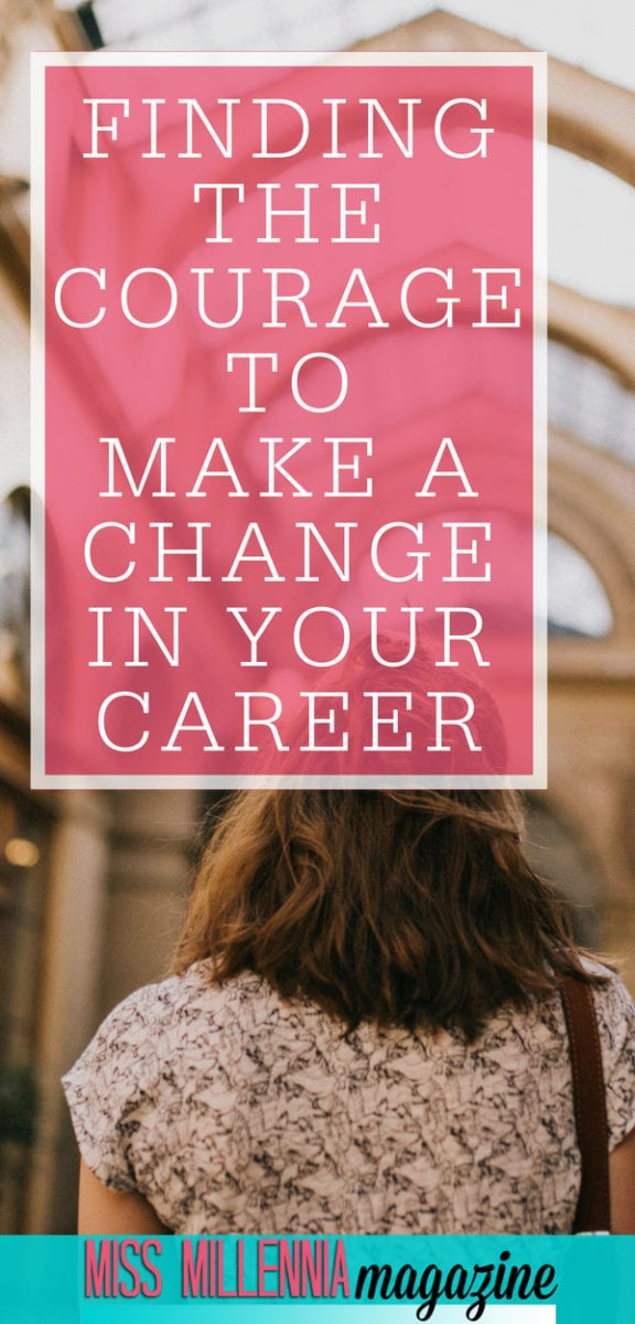 Change can be scary, but it can be so necessary for the growth of your career and personal devlopment. Today I want to talk about finding the courage to make a change in your career. #ForteCareerTakeoff #ad #inspiration #career #millennials