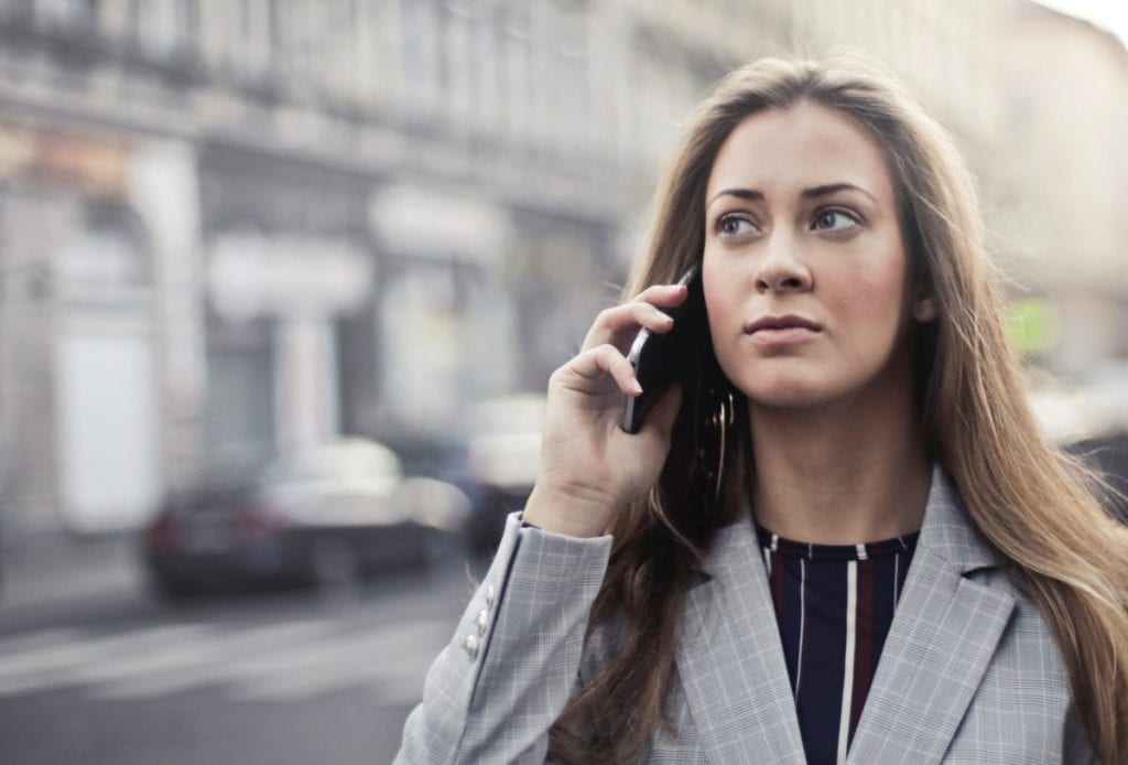 Talk on the phone before meeting