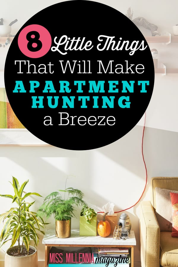 Searching for your 1st home is one of the most fun and stressful parts of #adulting. Follow my apartment hunting tips for a smooth experience!