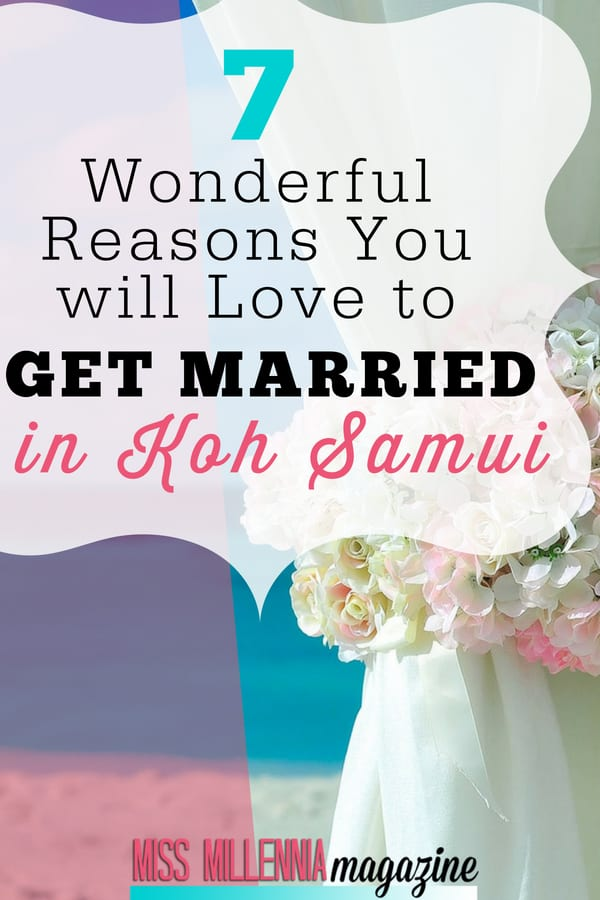 With the opportunities that come with Samui such as the great food and honeymoon activities, Koh Samui wedding venues are among the best in the world.