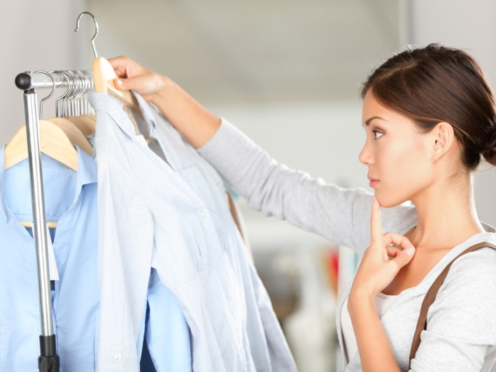 choosing your favorite clothes to pack for college