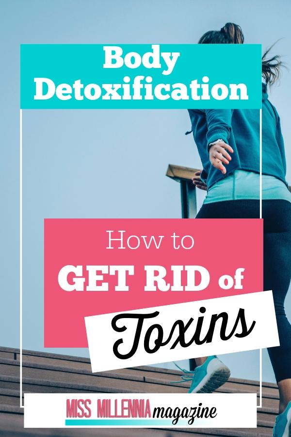 Body detoxification Pinterest image