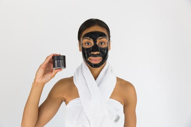 Woman on Facial Mask