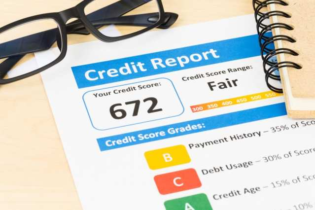 once your loans is approved, you check your credit score