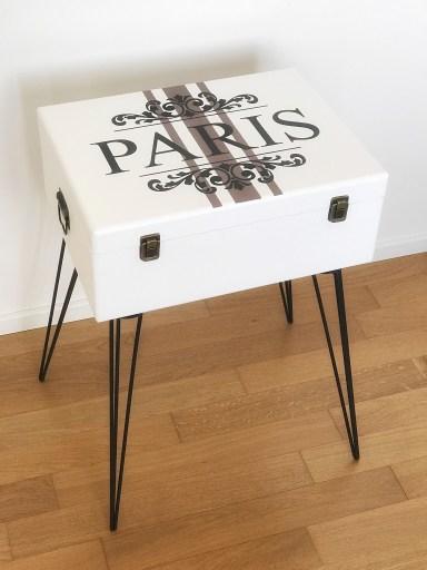 Koffer im Vintagelook - Kofferschrank Paris