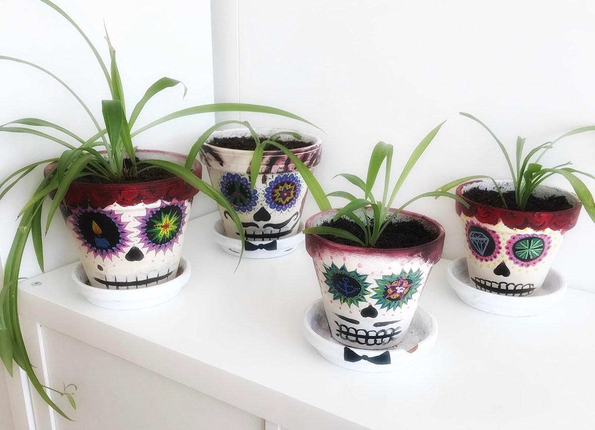 Mission Indoor Garten : Töpfe bemalen