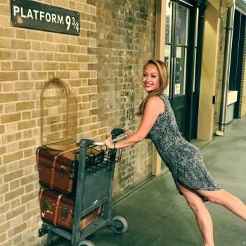 Bucketlist London - Plattform 9 3-4