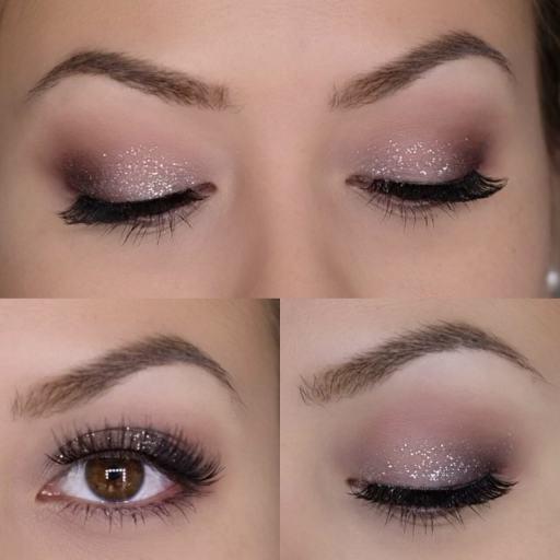 Heavy Metal Glitter Eyeliner Look 1k