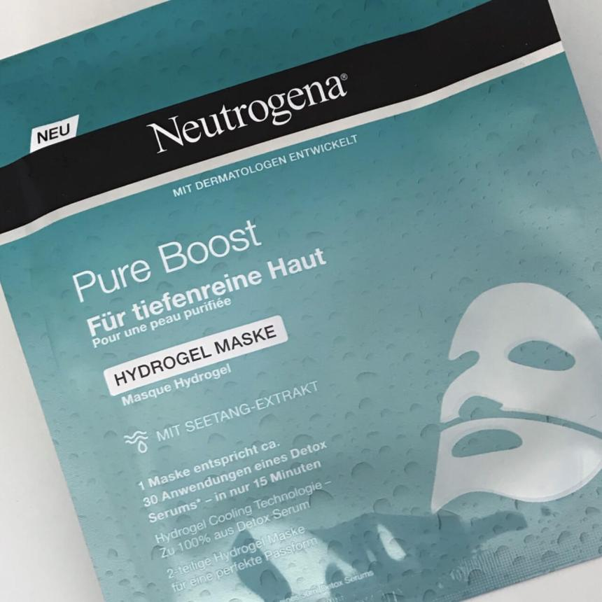 Neutrogena Hydrogel Masken pure Boost