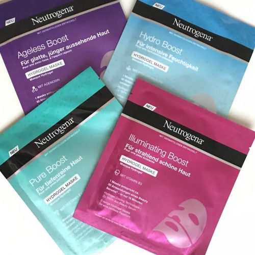 Neutrogena Hydrogel Masken Review