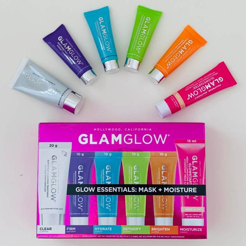 GlamGlow Essentials Mask and Moisture Set Review Erfahrung