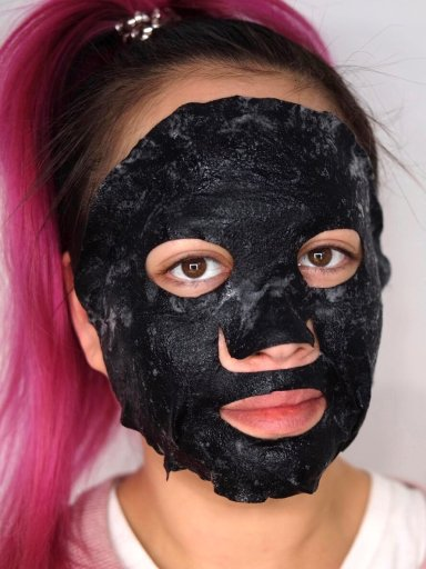 Bubble Glam Erfahrung Gesichtsmaske