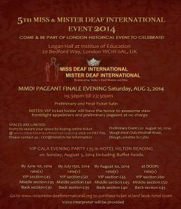 MMDI 2014 Flyer