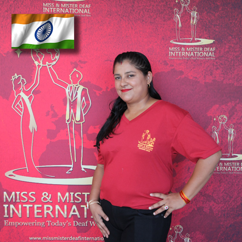 Miss Deaf India (Ankita Ajmera)