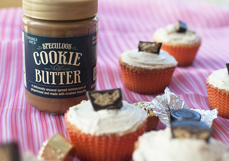 Cookie Butter Jar and Cupcakes