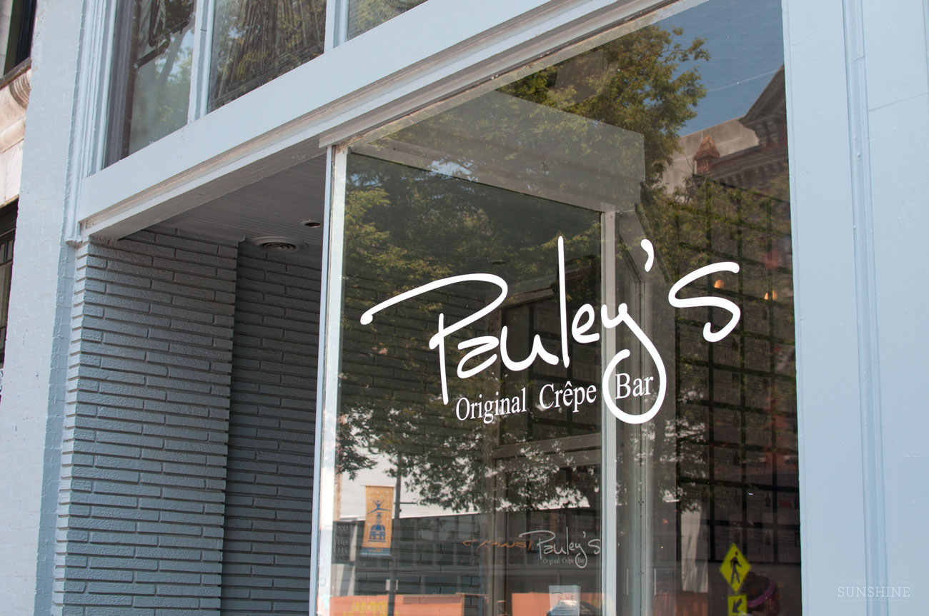 Pauley's Crepe Bar, Athens, GA