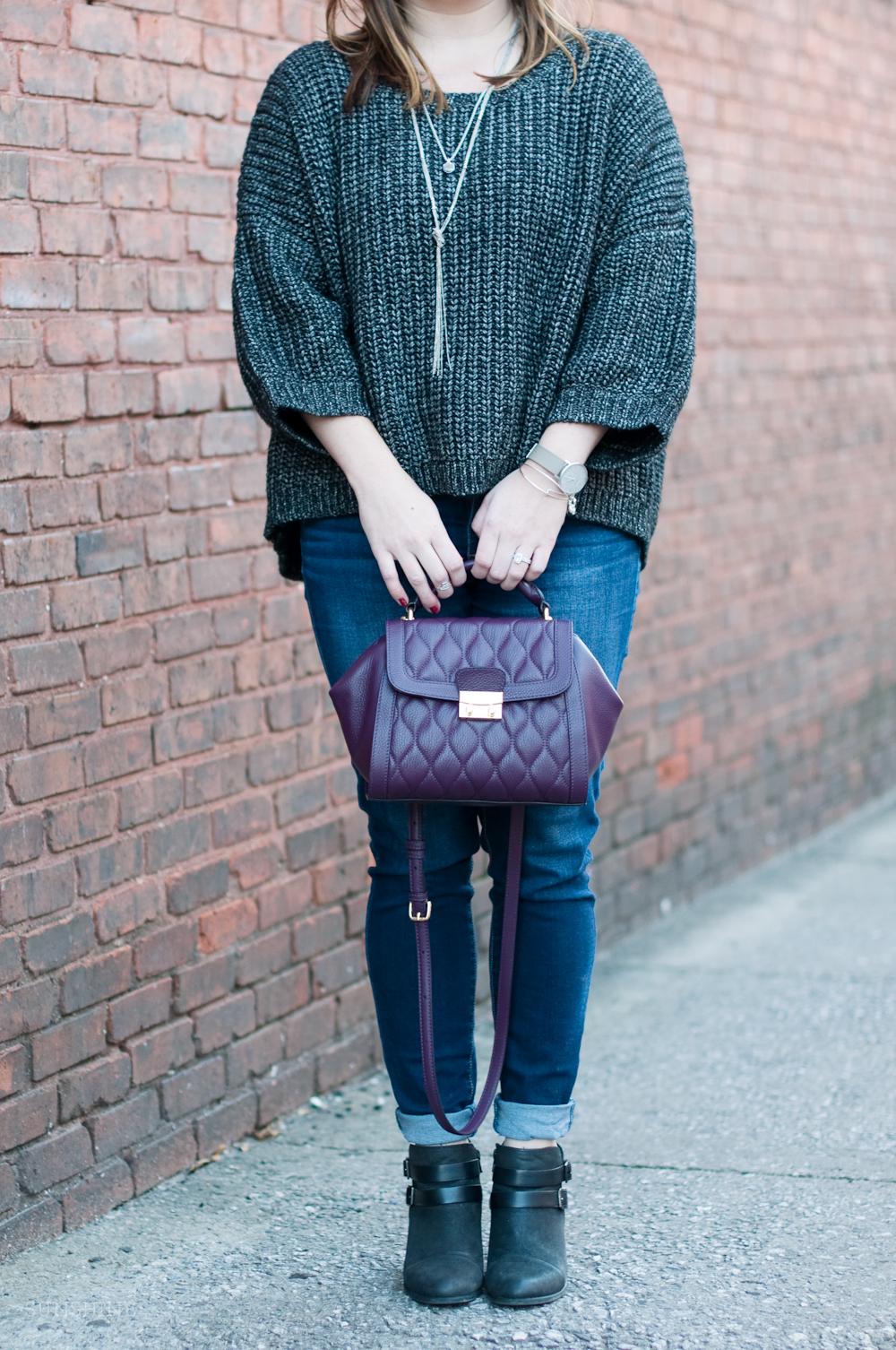 Vera Bradley Mini Satchel, Victoria's Secret Sweater