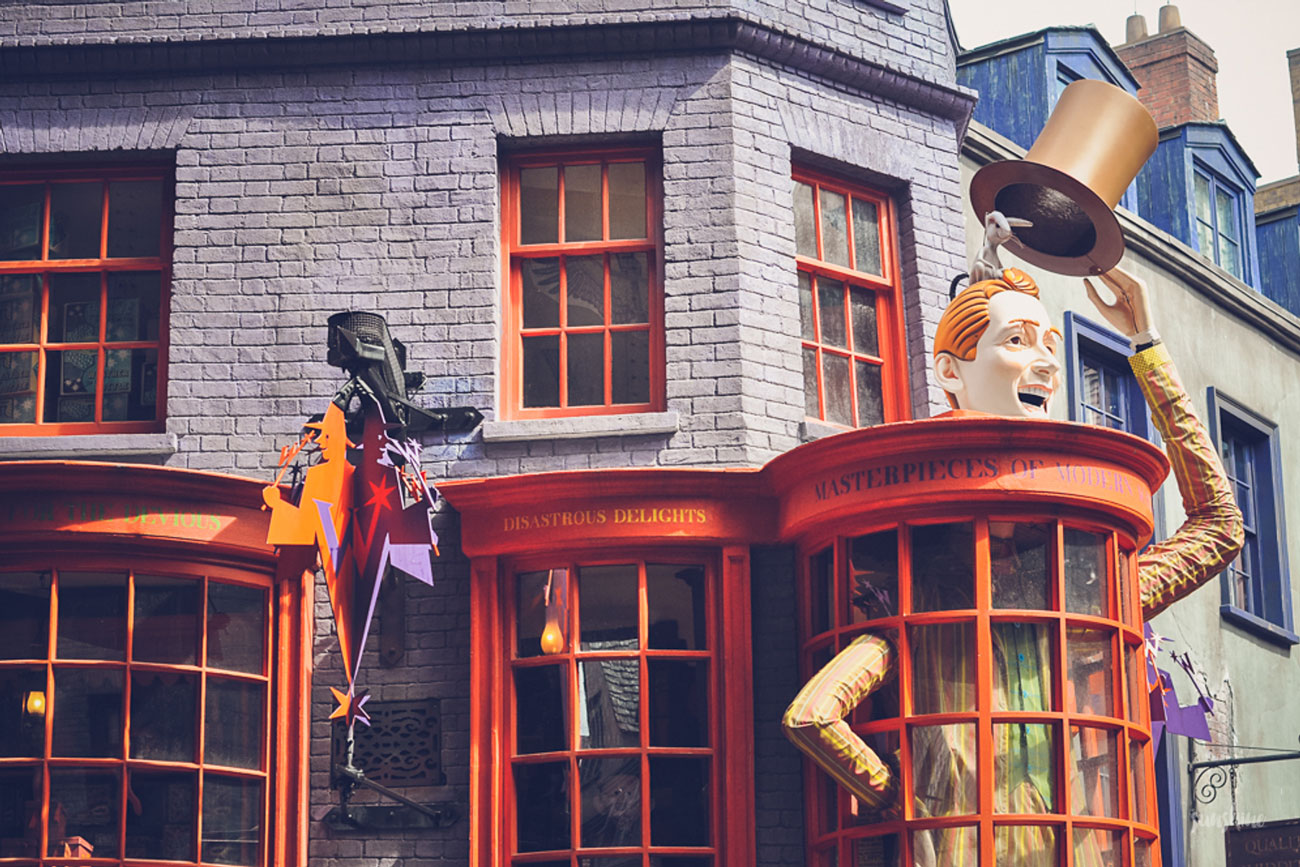 Anniversary Trip to The Wizarding World of Harry Potter in 2015