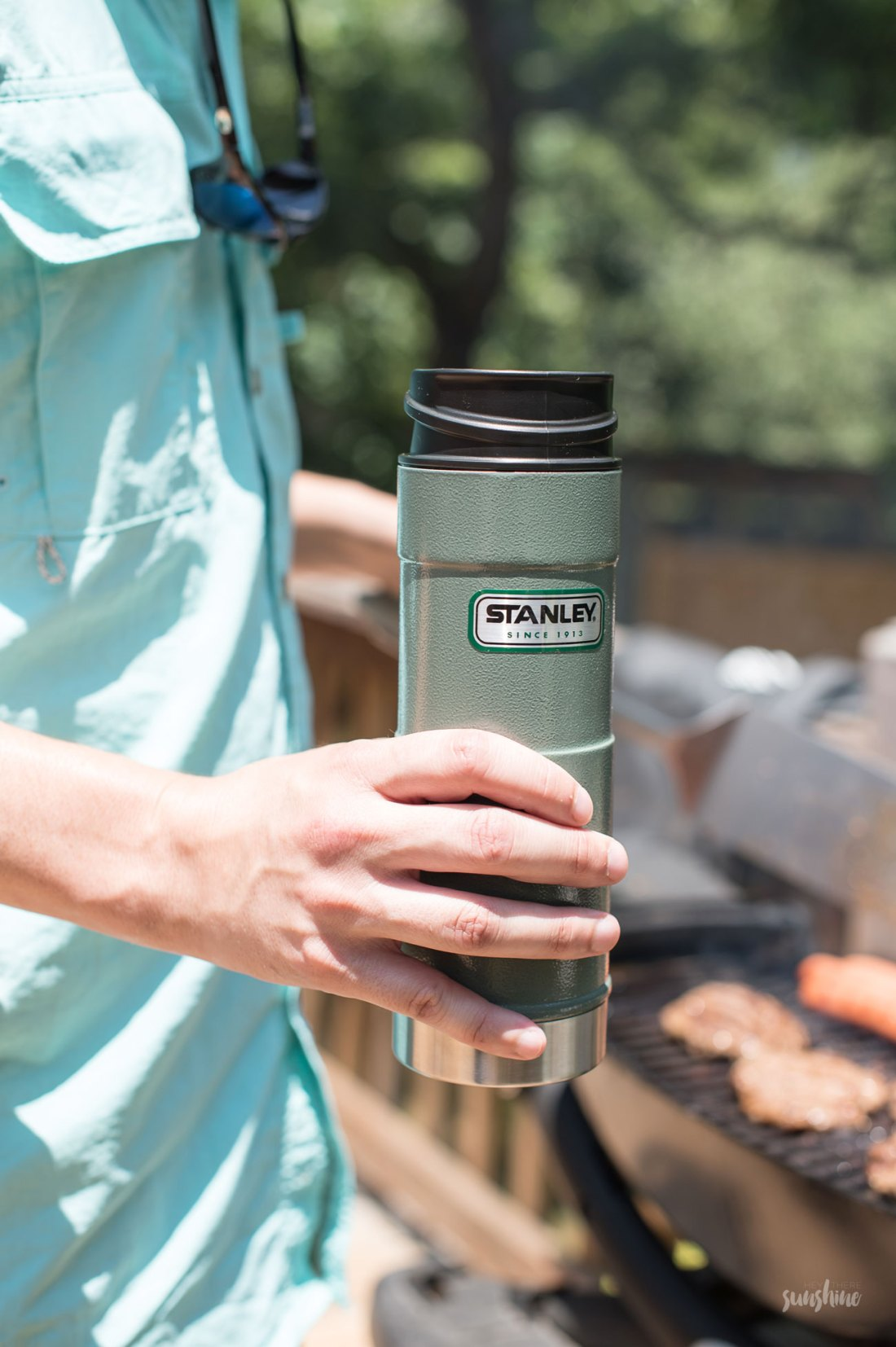 Cheers to dad with Stanley Brand