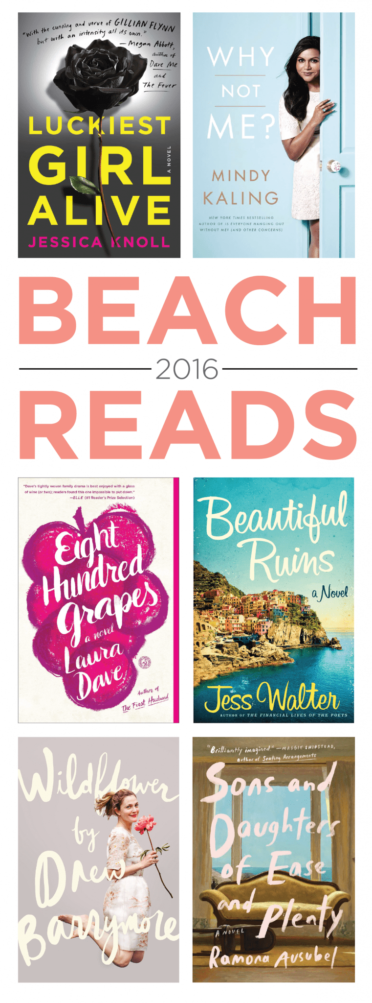 Books to read during your summer vacation, Beach Books