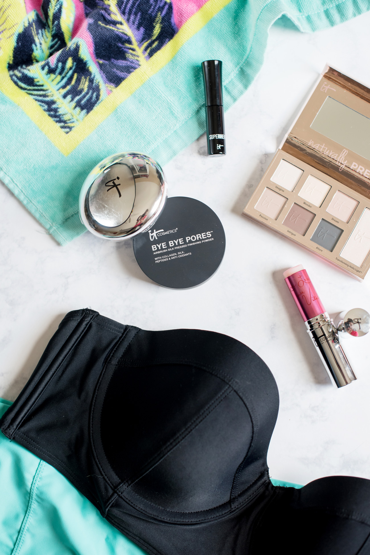 Easy summer makeup with It Cosmetics.