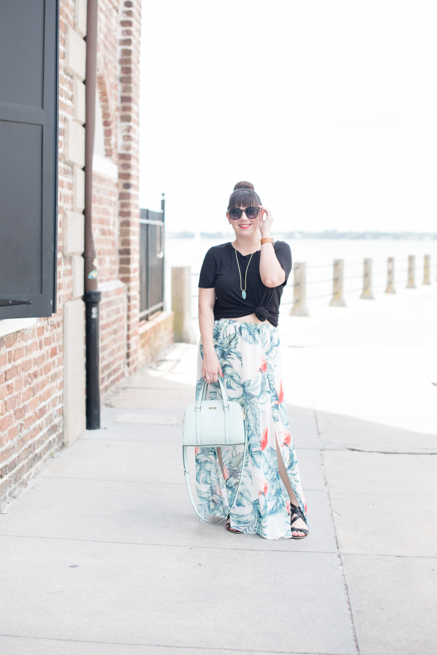 Palm Print Outfit Remix