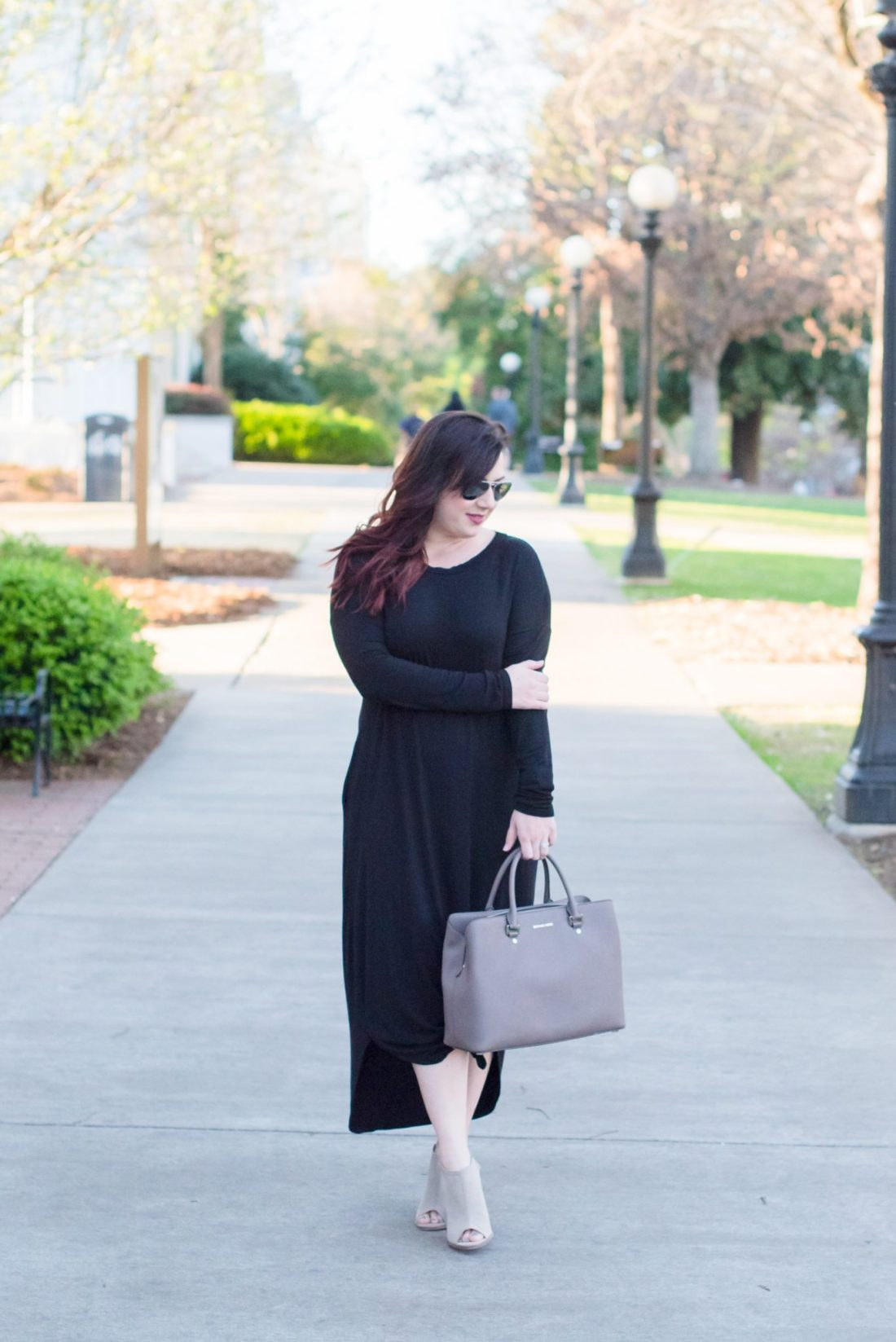 Basic Black Maxi Dress