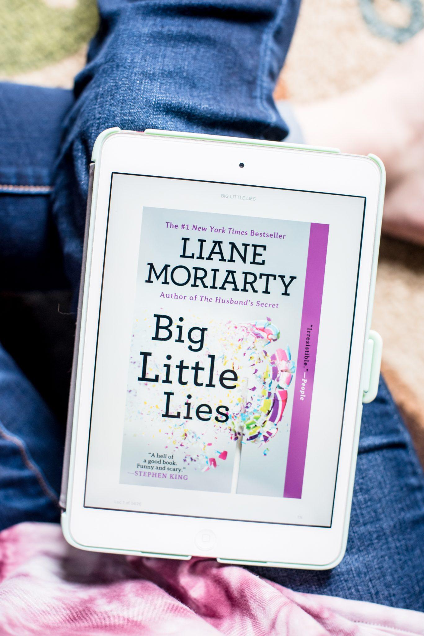 Reading Big Little Lies + February Reading Goals via @missmollymoon