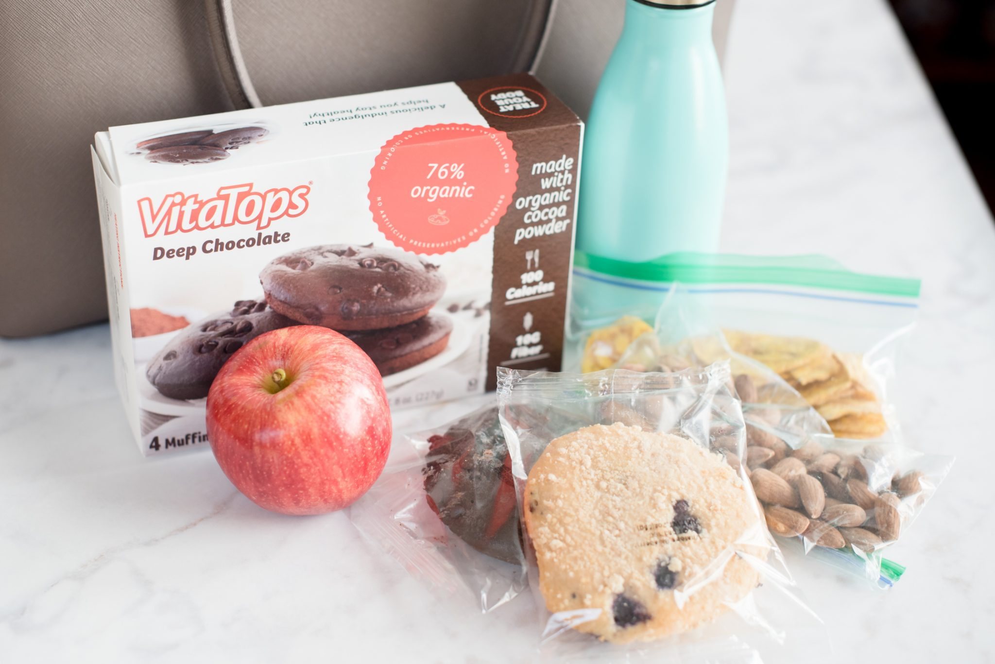 Healthy Snacks, Snacking Healthy All Day with VitaTops MuffinTops via @missmollymoon