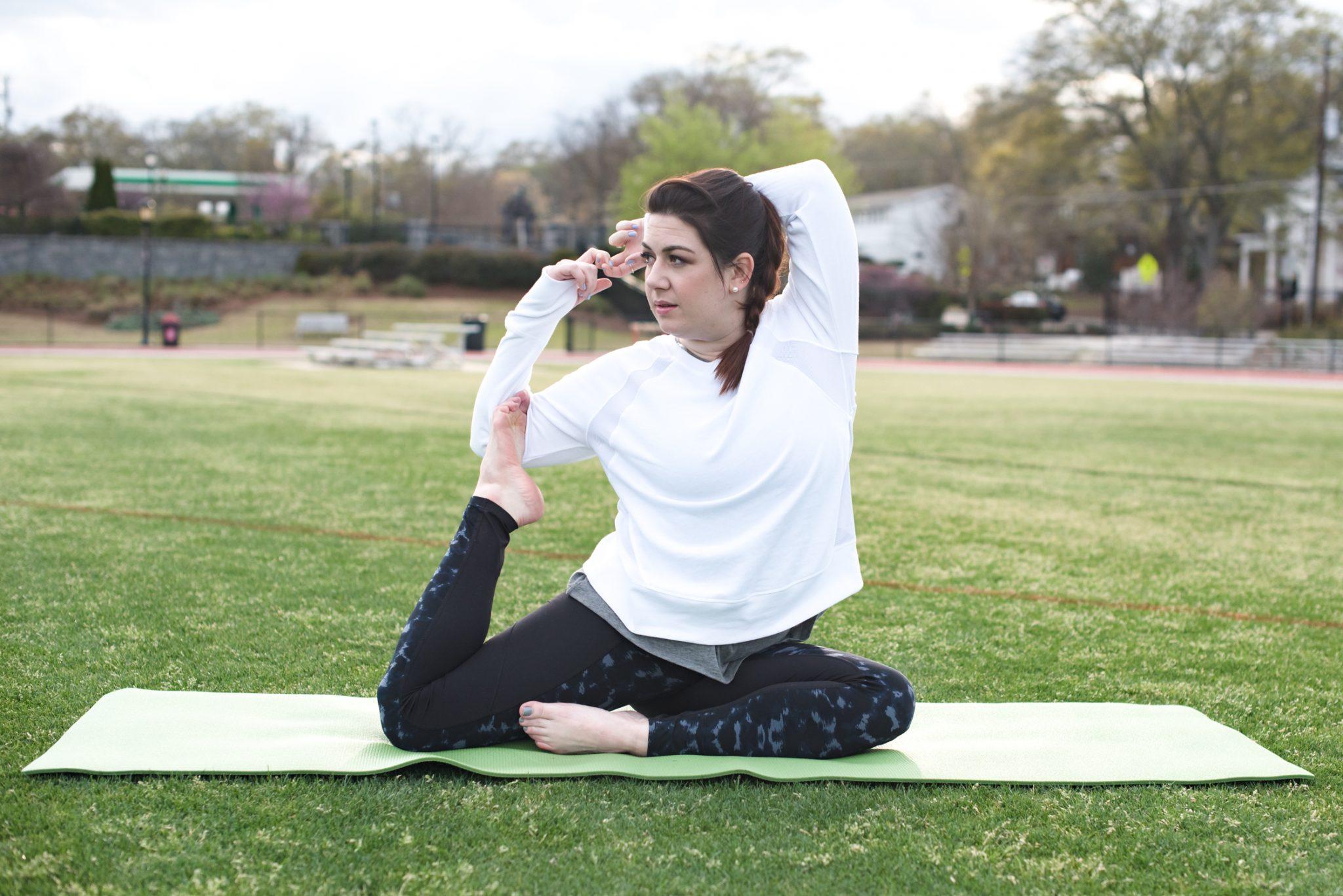 Fitness, Yoga, High-Rise Fitness Leggings via @missmollymoon