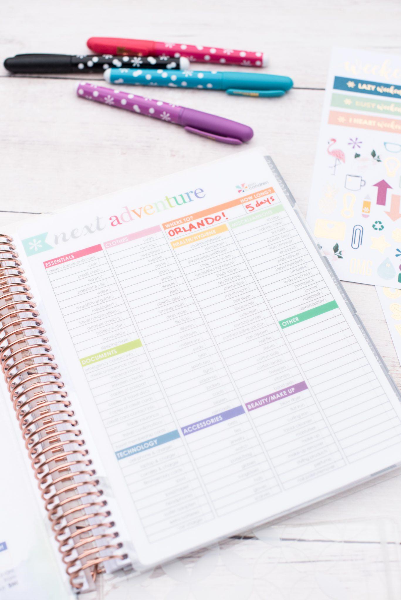 Getting Organized with the Erin Condren Life Planner via @missmollymoon