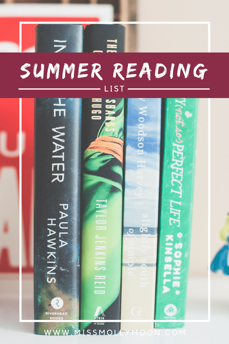 2017 Summer Reading List // Miss Molly Moon