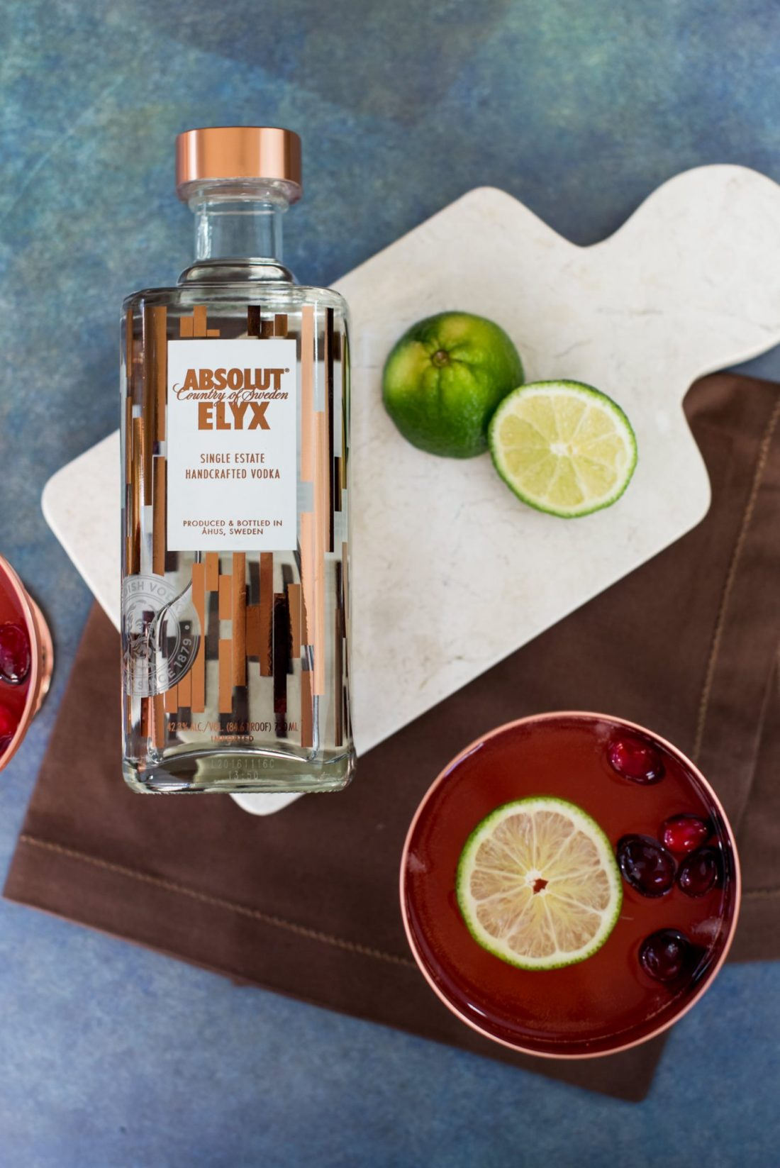 A Festive Cranberry Spice Fizz with Absolut Elyx [AD] // Miss Molly Moon