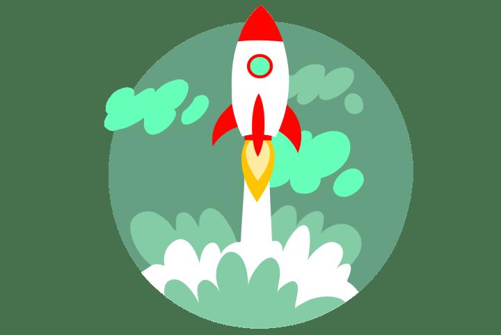 Raketenstart in eine spannende Zukunft