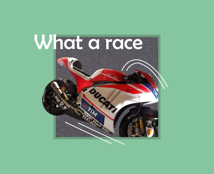 What a race?