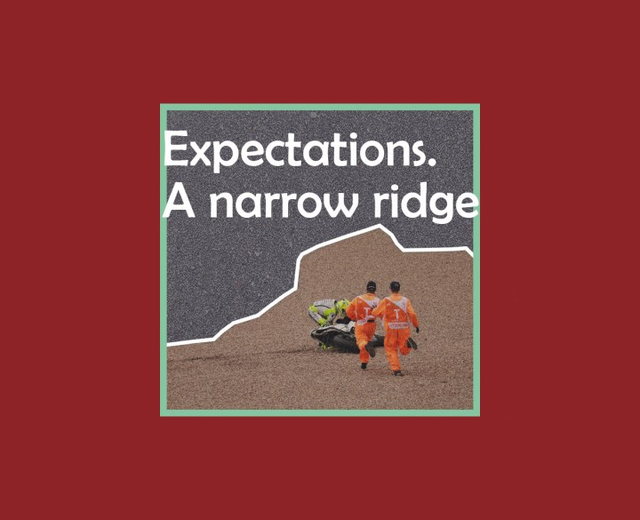 Expectations, disappointments and the thin line between them