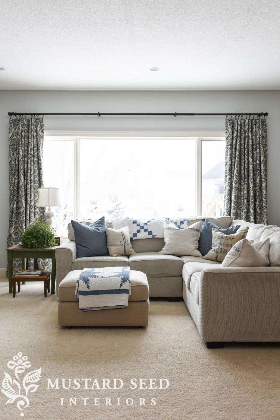 living room curtains miss mustard seed