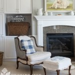 How To Paint A Granite Fireplace Surround Miss Mustard Seed