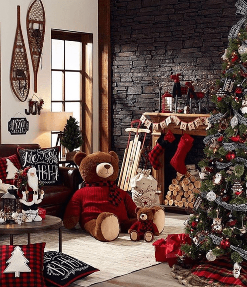 A gorgeous Farmhouse Christmas decor that will instantly cheer you up