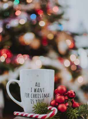 All I want for Christmas is You wallpaper background for smartphone