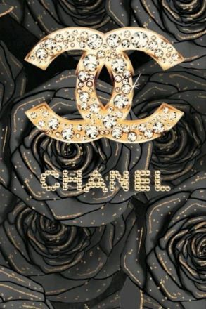 Black and gold channel iPhone wallpaper aesthetic. Glam iPhone wallpapers free to download