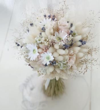Bridal Bouquet Preserved and Dried flowers