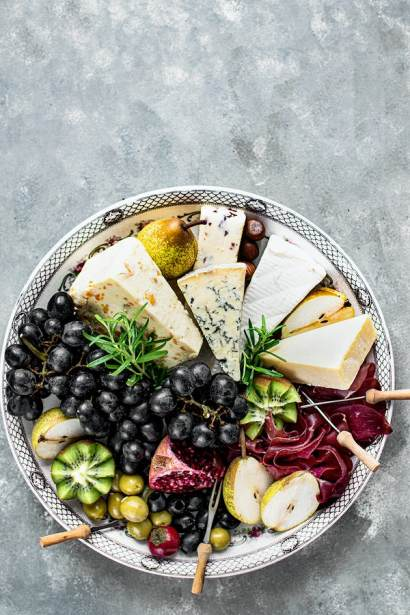 Cheese platter charcuterie board