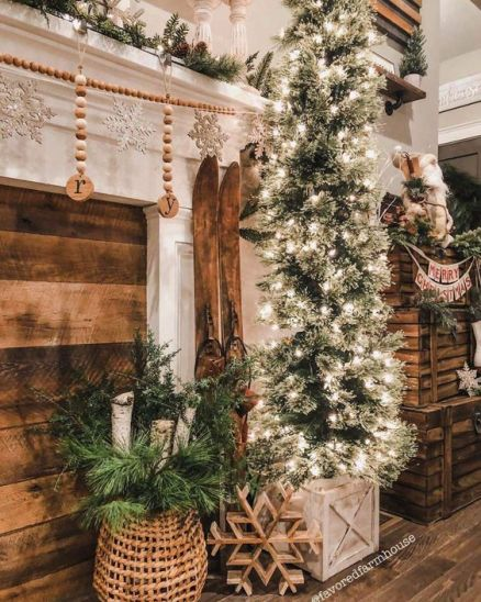 Cozy Farmhouse Christmas decor ideas