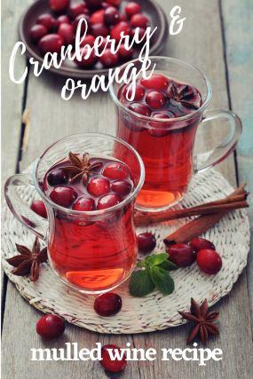 Cranberry & Orange Mulled Wine