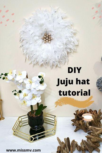 DIY Juju hat tutorial