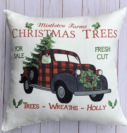 DIY Christmas pillowcase craft