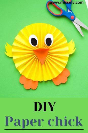 DIY paper chick