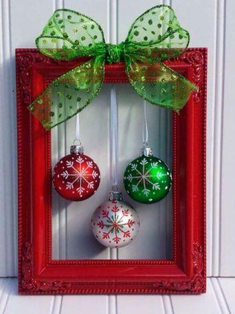 DIY photo frame for Christmas gifts